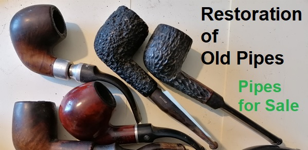 Old restored pipes for sale